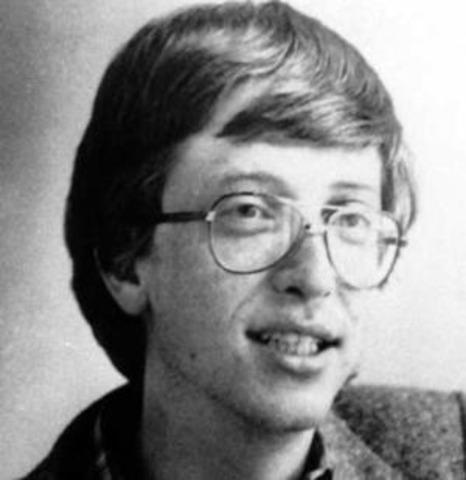 Bill Gates, se aficiona a la informática