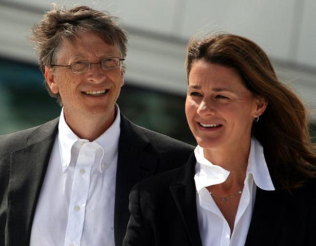 Bill Gates y su mujer son premiados