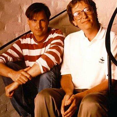 Bill Gates y Steve Jobs timeline