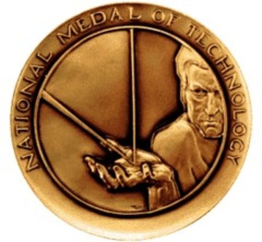 Steve Jobs: Medalla Nacional de la Tecnología