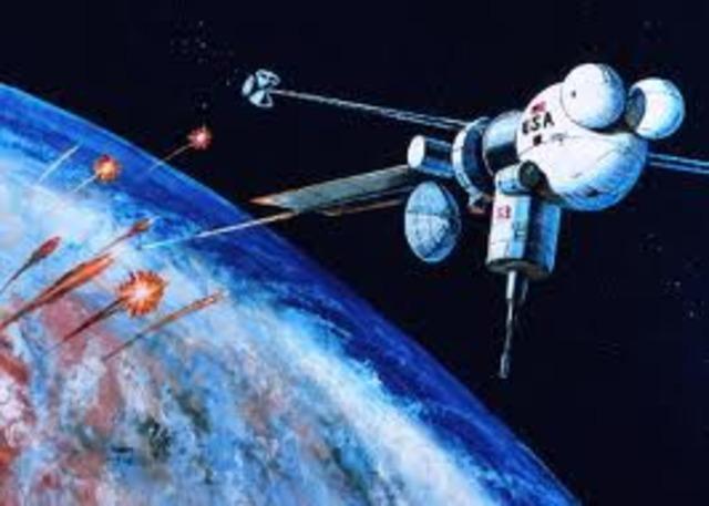 """Star Wars"" Missile Defense Shield."
