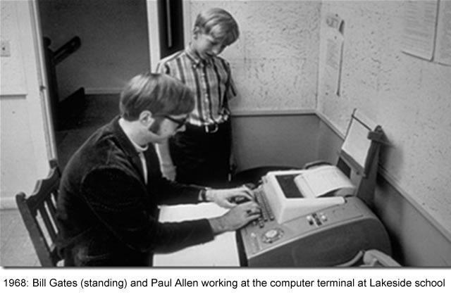 Bill tiene contacto con computadoras