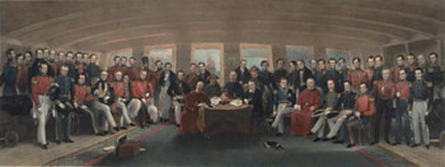 Treaty of Naking is signed