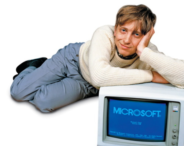 Bill es contratado para IBM