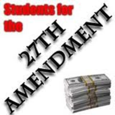 The 27th Amendment