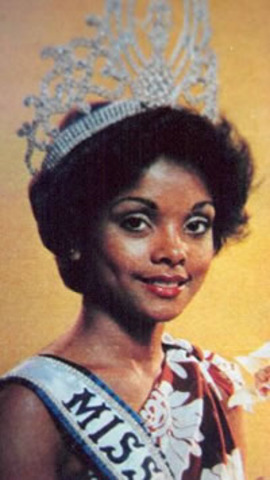 1st black Miss Universe