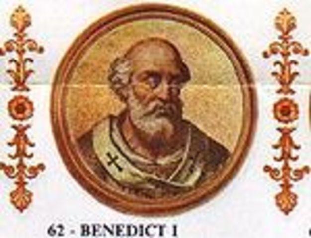 Pope Benedict 1