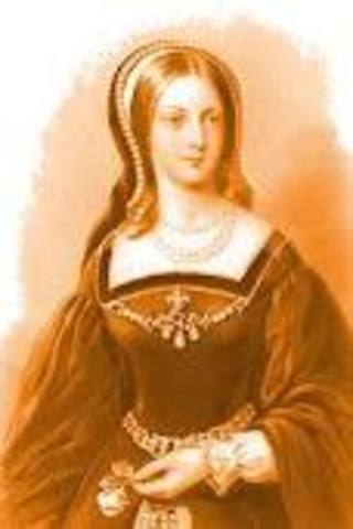 Lady Jane Grey becomes queen of England