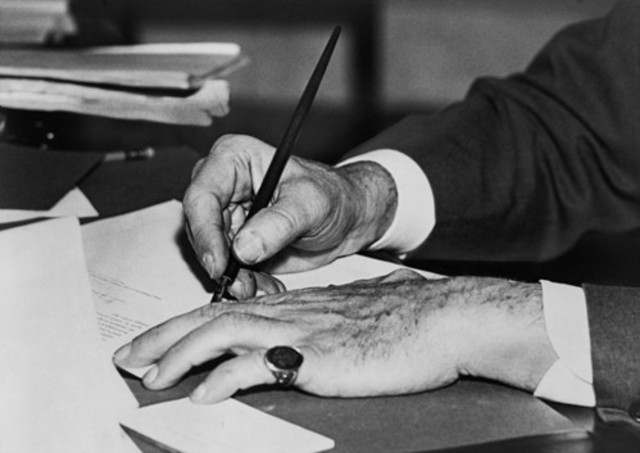 Creation and Signing of the Roosevelt Corollary