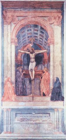 Masaccio - La Trinité