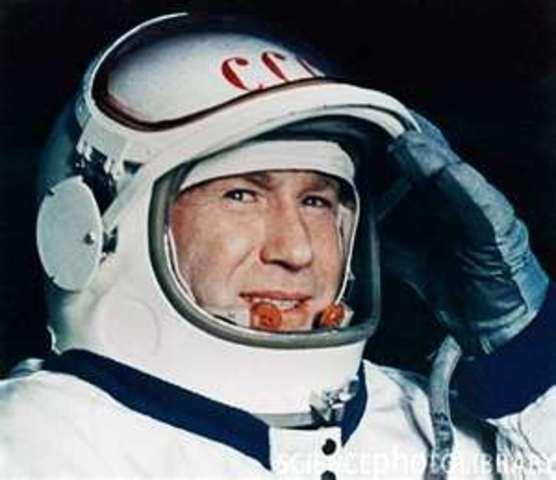 Alexey Leonov is the 1st man to take a Spacewalk