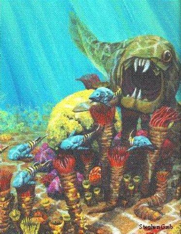 Beginning of Devonian period