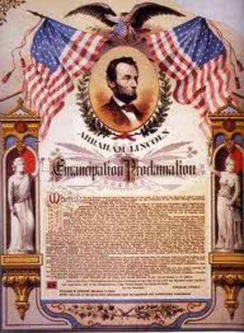 President Lincoln issues a Proclamation of Blockage.