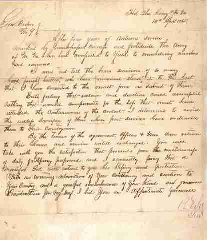 Robert E. Lee resigns his commission in the United States Army.
