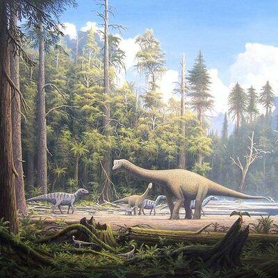 Mesozoic Era (THE AGE OF REPTILES) timeline