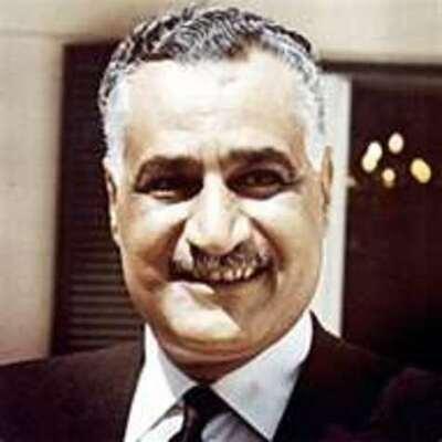 Gamal Abdel Nasser timeline