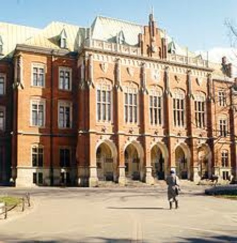 Enrolled at Jagiellonian University in Poland