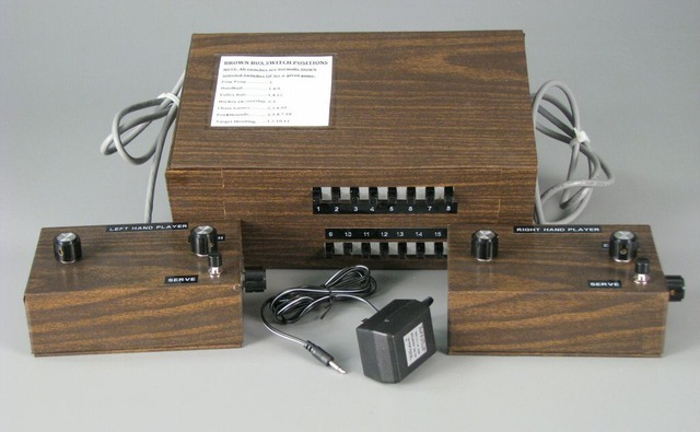 """The First Console, the """"Brown Box"""""""