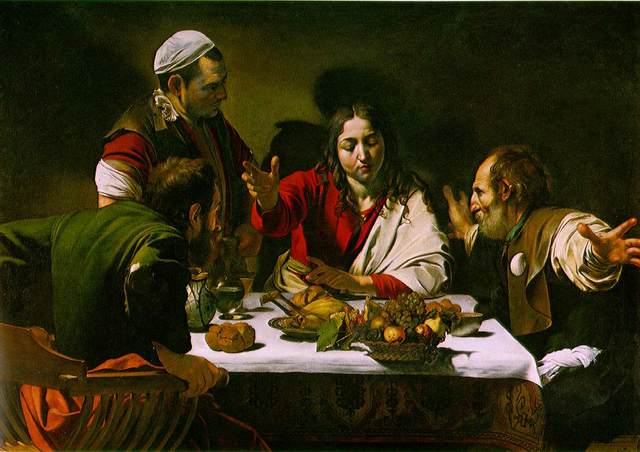 Caravaggio's 1st public commission for paintings