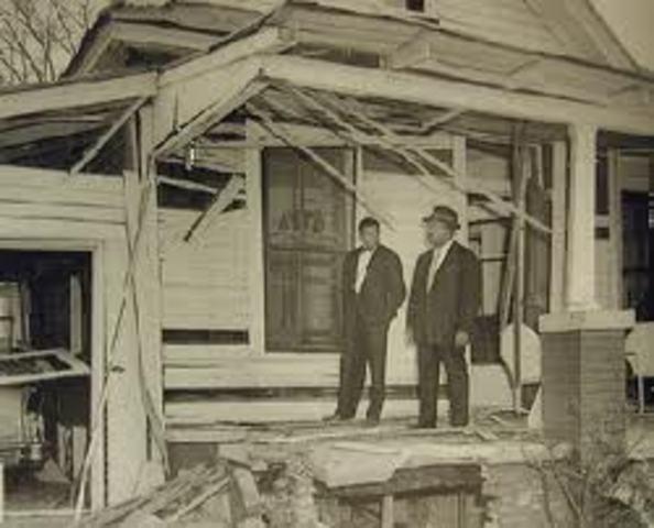 MLK's house bombed