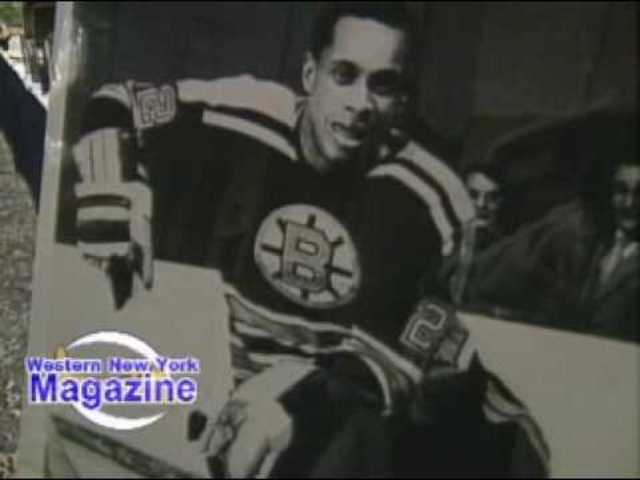 Willie O'Ree joins the NHL