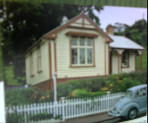First house built
