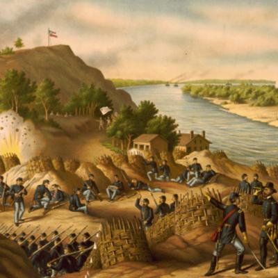Battle of Vicksburg timeline