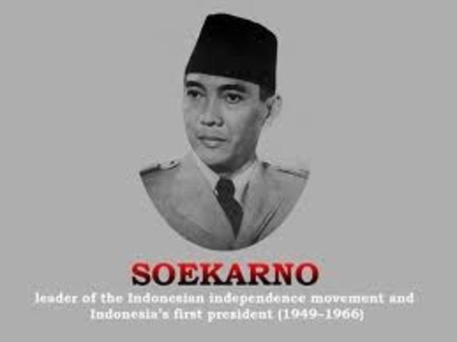 1st President seokarno