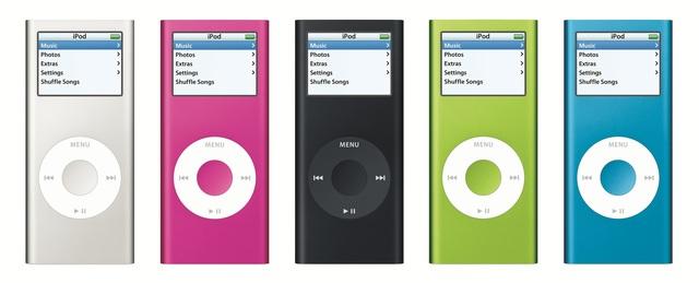iPod nano gets a new aluminum