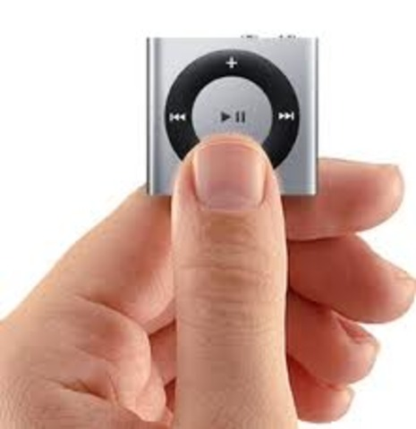 new iPod shuffle,