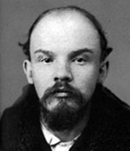 Lenin Shipped By Germany to Russia