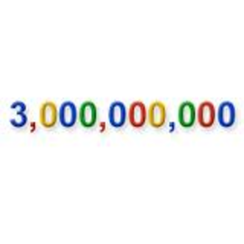 3 Billion web documents.