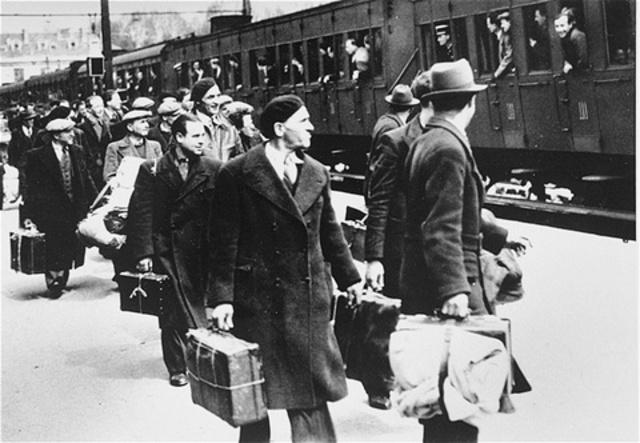 Austrian and Czech Jews Deported