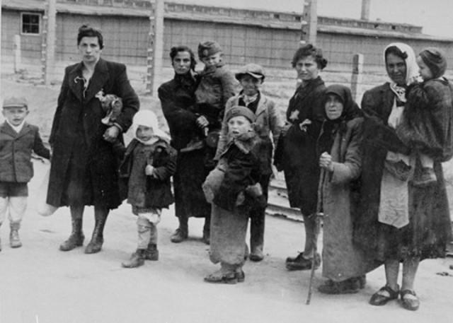 European Jews gassed