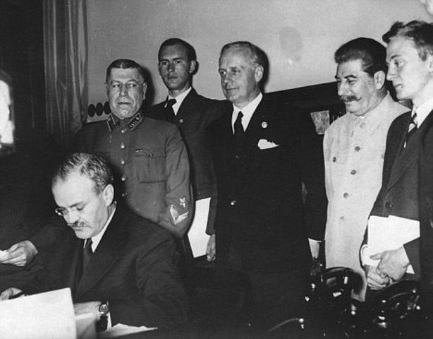Soviet/ German Nonaggression Pact