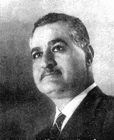Nasser as minister