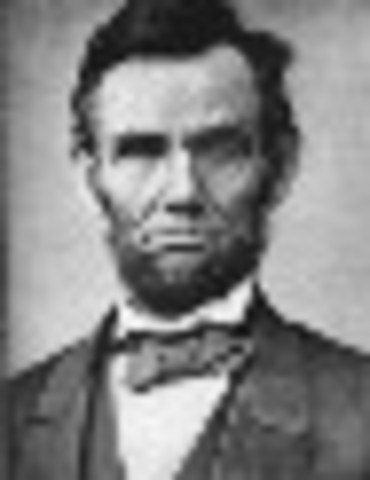 Lincoln is sworn in