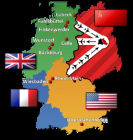 Berlin Blockade ends