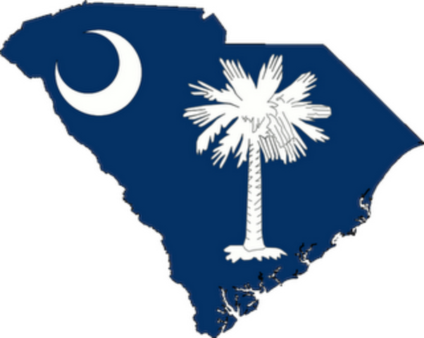 South Carolina seceeds from the Union