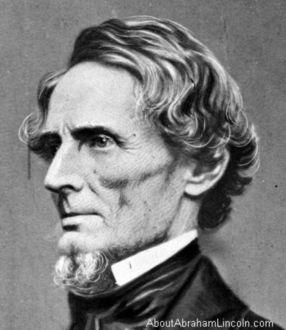 Jefferson Davis Favors Secession