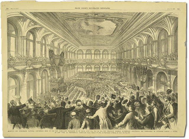 South Holds a National Democratic Convention