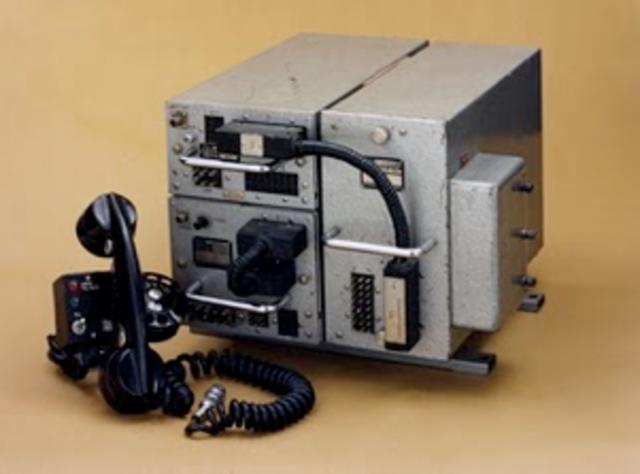 The First Car Phone