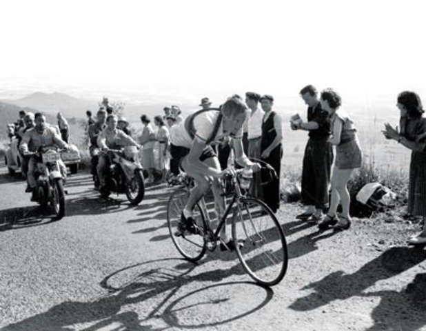 1952 - First finish at altitude