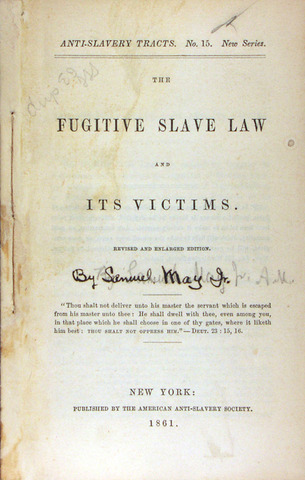 Fugitive Slave Law was passed