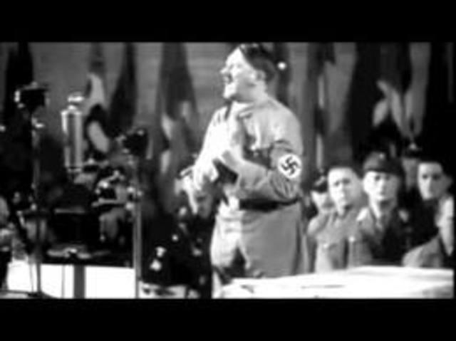 "Hitler delievers ""Twenty-Five Theses"""