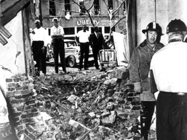 The bombing of the Sixteenth Baptist Church