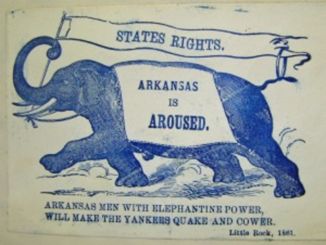 Arkansas Seceds From The Union