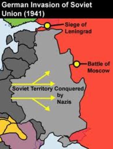 Hitler invades the Soviet Union