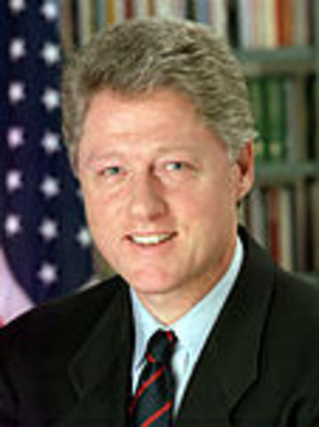 Bill was re-elected for President.