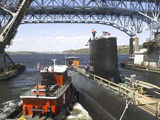 First Nuclear-Submarine